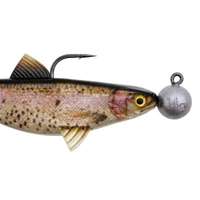 Senshu Real Fin Shad 12 Ready2Catch - Rainbow Trout, 12cm - 25g - 3 Stück