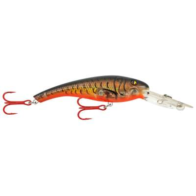 Matzuo Tournament Crank 3 Gold Black Back Orange Belly, - 7,6cm - GLDBLKBKORGEL - 10,6g - Gr. 4 Treble - 1Stück
