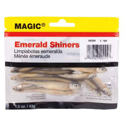 Magic Emerald Shiner Minnows-Pouch-Large