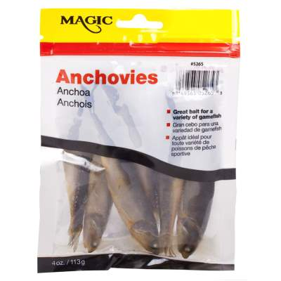 Magic Preserved Anchovies 4 oz Bag
