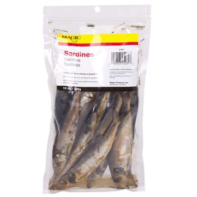 Magic Preserved Sardines 12 oz Bag