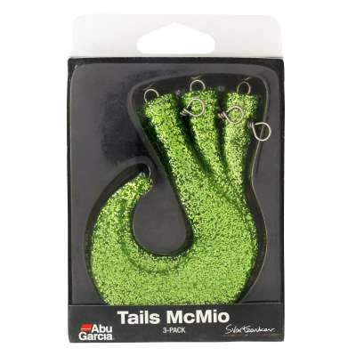 ABU Garcia Svartzonker McMio Spare Tails 3er-Pack PAP green