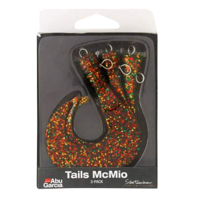 ABU Garcia Svartzonker McMio Spare Tails 3er-Pack T Brown