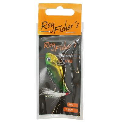 Roy Fishers Metal Vib, 5,3cm 12g Golden Green