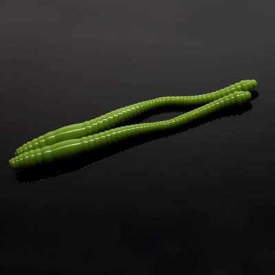 Libra Lures Dying Worm Creaturebait, 7cm - olive - 15Stück