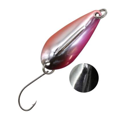 Troutlook Forellen Spoon Cruisader, 2,5g - 32x14mm - 4# pink/sil/or