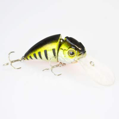 Angel Domäne Hechtkiller Wobbler 2-tlg. 6,5cm suspending metal perch