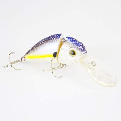 Angel Domäne Hechtkiller Wobbler 2-tlg. 6,5cm suspending whitfish