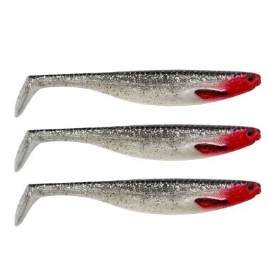 Westin Shad Teez Slim 10cm, 10cm - 6g - Red Light - 3Stück