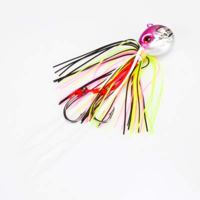 Angel Domäne Fireball Squid Jig silver purple 50g