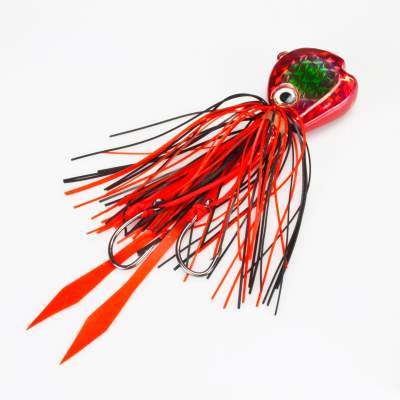Angel Domäne Fireball Squid Jig red metalic 80g