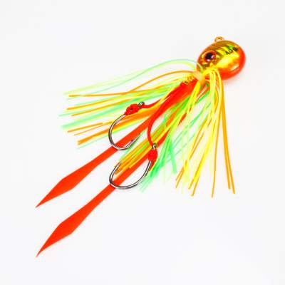 Angel Domäne Fireball Squid Jig orange gold 40g