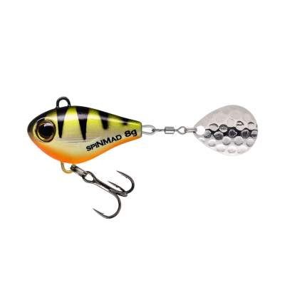 SpinMad Jigmaster 8g Tail Spinner, 7cm - 8g - Perch