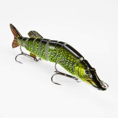 Roy Fishers Der Hecht Swimbait, 12,5cm - Natural Pike