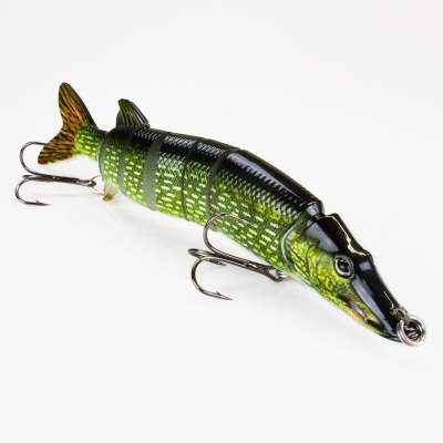 Roy Fishers Der Hecht Swimbait, 20,0cm - Natural Pike