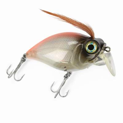 Angel Domäne Catchslide Fat Jack 1 Wobbler floating 080 6,5cm orange pearl