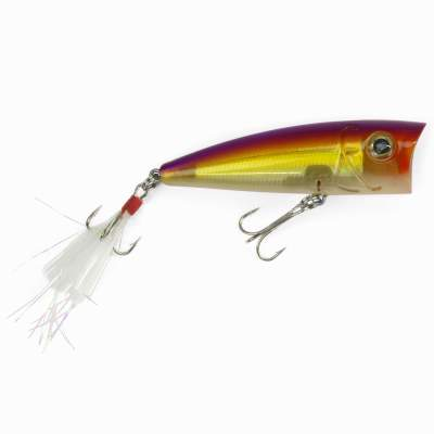 Angel Domäne Catchslide Feather Popper 1 floating 7,5cm lila yellow pearl