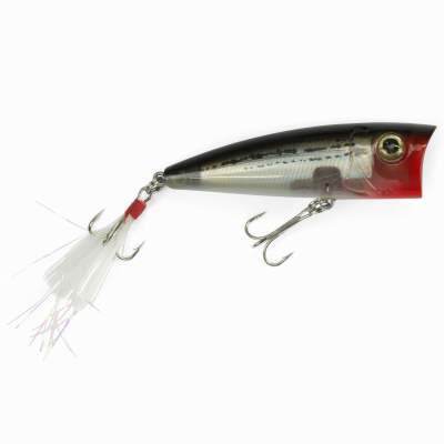 Angel Domäne Catchslide Feather Popper 1 floating 7,5cm grey pearl striped,