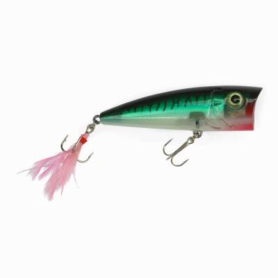 Angel Domäne Catchslide Feather Popper 2 floating 6,3cm mackrel green