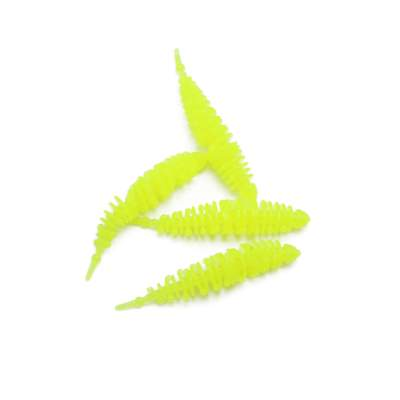 Troutlook Shaky Worms, 6,0cm - 1,2g - Neon Chartreuse