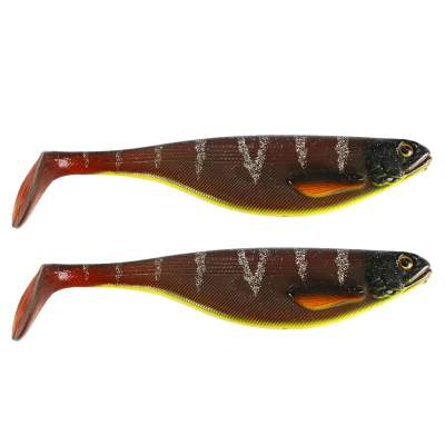 Westin ShadTeez 12cm Gummifisch 2 Stück Motoroil Lemon Perch Limited Edition