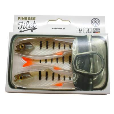 LMAB Finesse Filet 11cm, Perch, 3 Stück