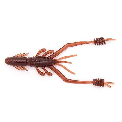 "Reins Ring Shrimp 2"" 4,8cm Cola (Scuppernong), - 4,8cm - Cola (Scuppernong) - 0,5g - 12Stück"