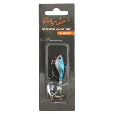 Roy Fishers Spoonz Lead Fish, 8,8cm - 11g - blue - 1 Stück