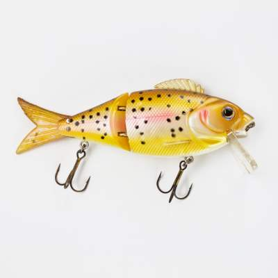 Angel Domäne Jointed Pike Killer Wobbler, Rainbow Trout