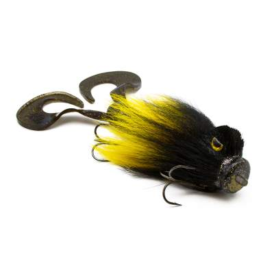 Strike Pro Miuras Mouse Big Hybrid Bigbait, 23cm - Yellow Fever - 95g - 1 Stück