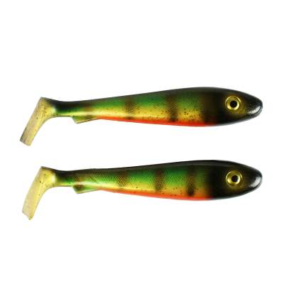 Svartzonker Sweden McRubber Gummifische 21cm Old School Perch, 85g - 2er Pack - C28