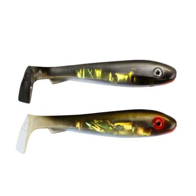 Svartzonker Sweden McRubber Junior 17cm Gummifische, 45g - 2 Stück - Baltic Herring & Golden Bream