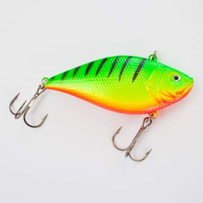 Roy Fishers Rattle Bob Wobbler, 7,0cm, 6,0g, schwimmend, FT Firetiger