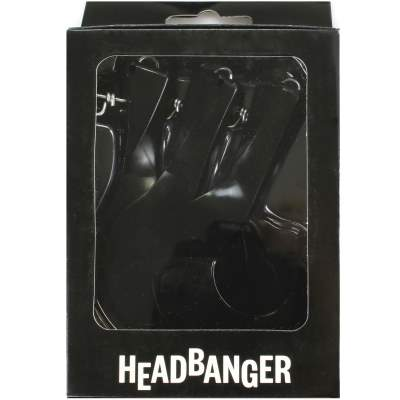 Headbanger Lures Headbanger Spare Tail (Ersatzschwanz) Black