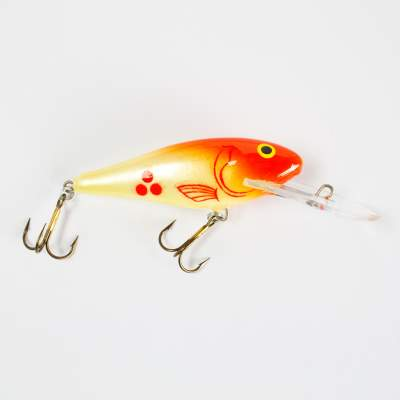 Salmo Executor SDR Wobbler Tiefläufer floating 5,0cm RH, - 5cm - Red Head - 6g - 1Stück