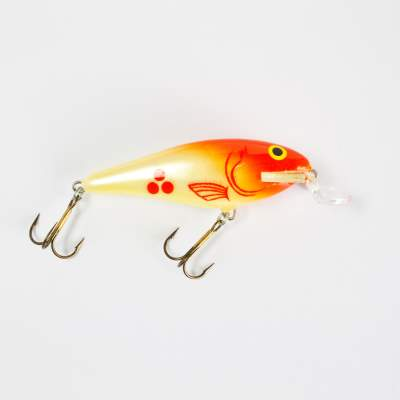 Salmo Executor SR Wobbler Flachläufer floating 5,0cm RH, - 5cm - Red Head - 5g - 1Stück
