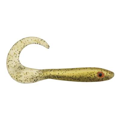Svartzonker Sweden McRubber Stealth Tail Twister Bulk 23cm Gummifisch, 36g - Gold and Black S10