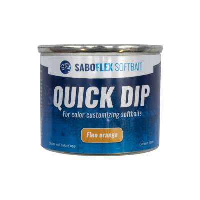 Svartzonker Sweden SaBoFlex Softbait Quick Dip, 50 ml - Fluo Orange