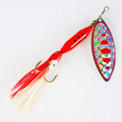 Angel Domäne Spinner Long blade octotail 25g 001A, - 12,5cm - 001A - 25g - 1Stück