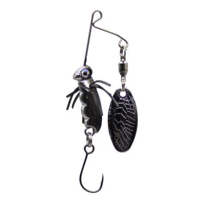 SPRO Micro Larva Spinnerbait Single Hook R Mini Spinnerbait, 4cm - 7g - Roach - 1Stück