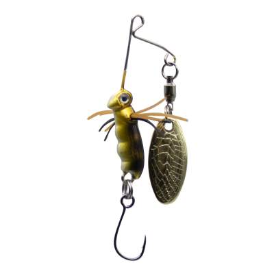 SPRO Micro Larva Spinnerbait Single Hook M Mini Spinnerbait, 4cm - 7g - Minnow - 1Stück