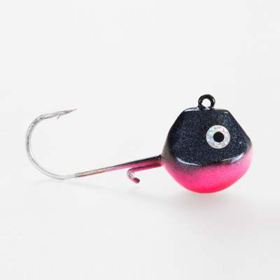 Seawaver Lures Light Tackle LT Jighead mit VMC Haken black-magic-pink 85g, -black-magic-pink - 85g - 1Stück