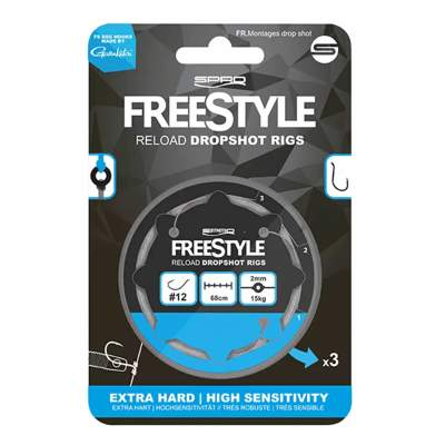 Spro Freestyle Reload Dropshot Rig 22, - 0,22mm - 3Stück