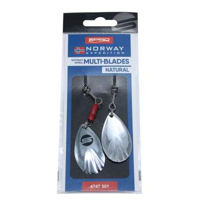Spro Norway Expedition Multi-Blades Natural, - Natural - 1Stück