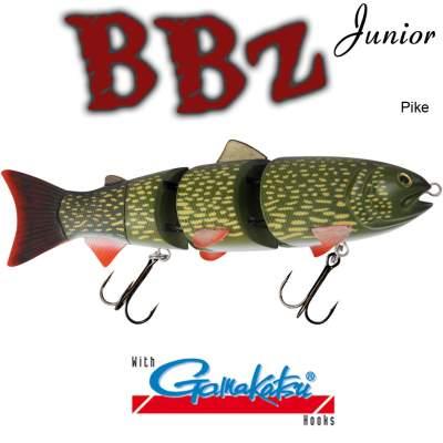 SPRO BBZ-1 6 Swimbait floating PI
