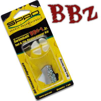 SPRO BBZ-1 Swimbait Fins & Tail replacements Set 18 BH