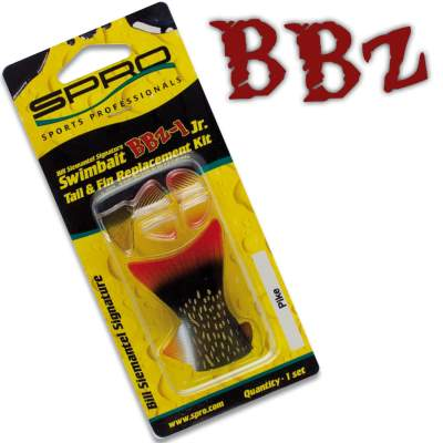 SPRO BBZ-1 Swimbait Fins & Tail replacements Set 18 P