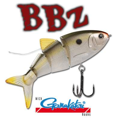 SPRO BBZ-1 4'' Shad Swimbait floating NS