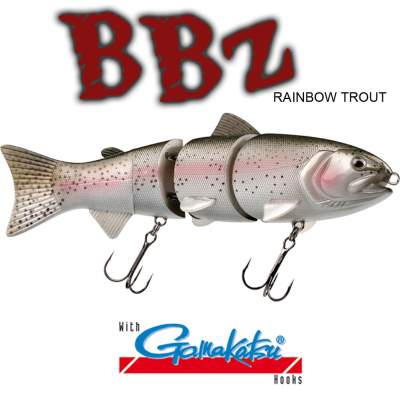 SPRO BBZ-1 8 Swimbait slow sinking Rainbow Trout