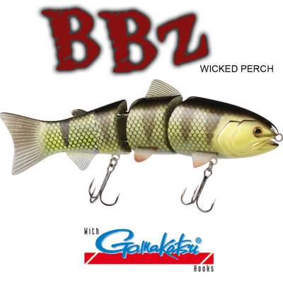 SPRO BBZ-1 8 Swimbait floating Wicked Perch